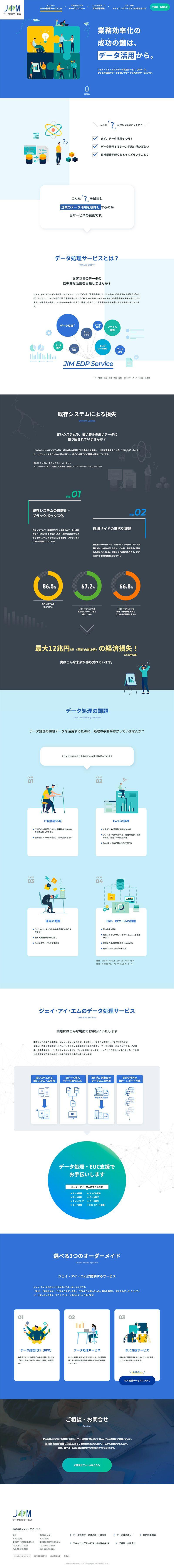 株式会社ジェイ・アイ・エム ブランディングサイトTOPページ